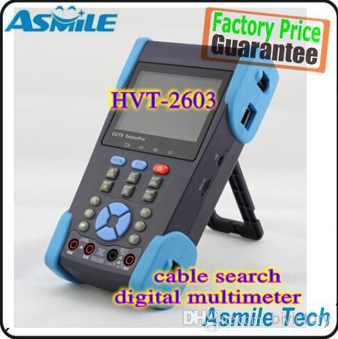 High quality !! HVT-2603 3.5 Full-View TFT-LCD CCTV Camera Tester PTZ Cable Digital Multimeter<br><br>Aliexpress