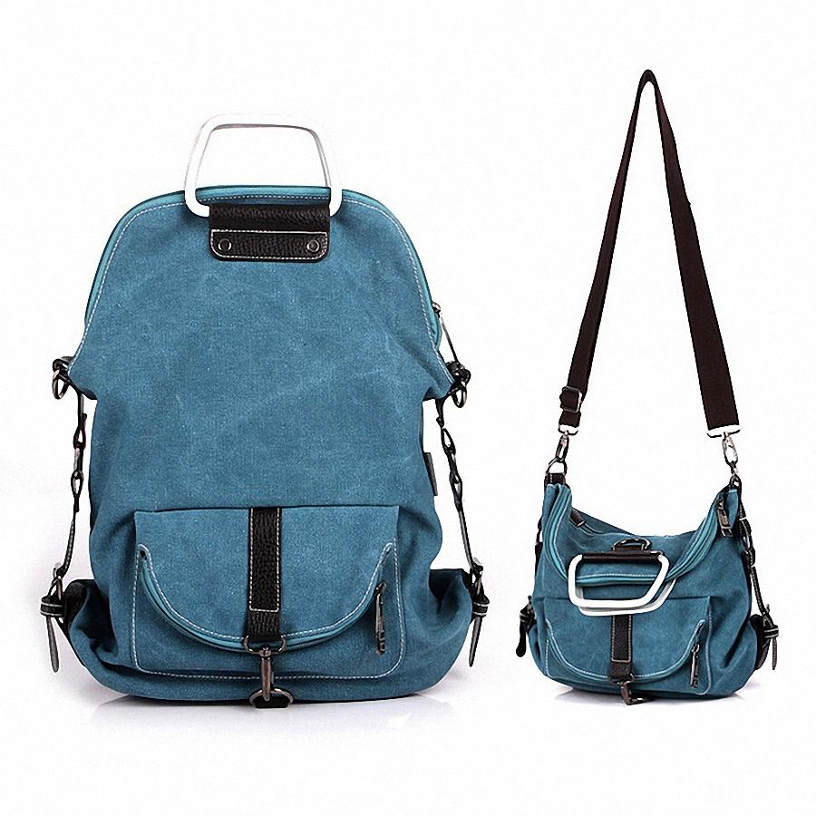 Многофункциональный холст рюкзак сумка женская дизайнерская школьные сумки для девочки подростки свободного покроя путешествия рюкзаки li-368