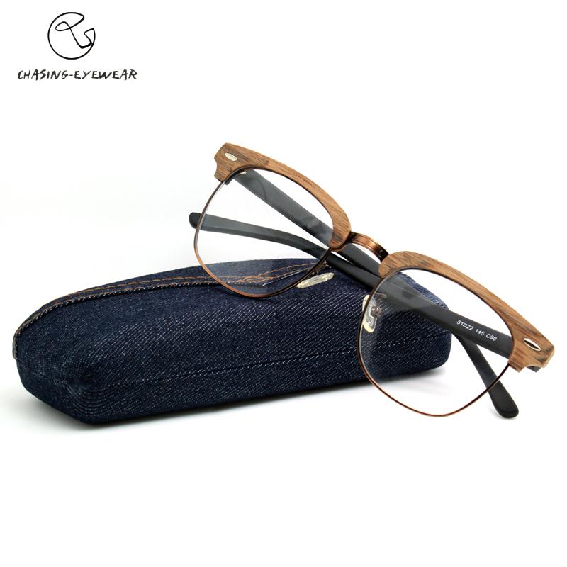 2017 Brand Design Eyewear Frames eye glasses frames for Women Men Male Eyeglasses Ladies Eyeglass Plain spectacle frame CS8816