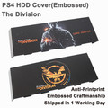 For PS4 Sticker Skin Accessories Embossed Hard Disc Drive Cover Housing Case Matting faceplate for Playstation