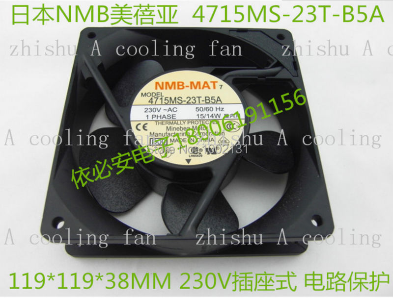 Free Shipping New Original NMB-MAT 4715MS-23T-B5A AC 230V 12038 12cm 120mm industrial metal axial Cooling Fans<br><br>Aliexpress
