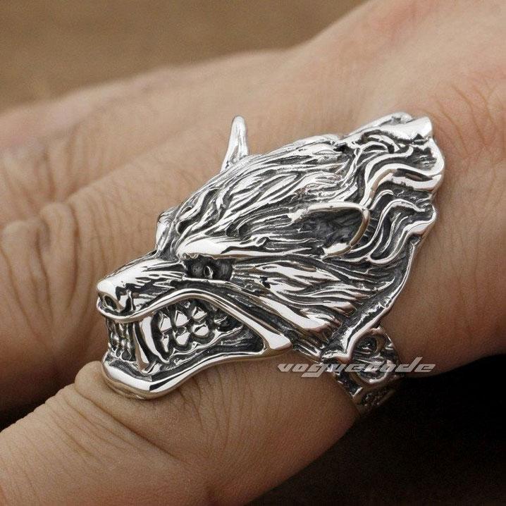 кольцо волк