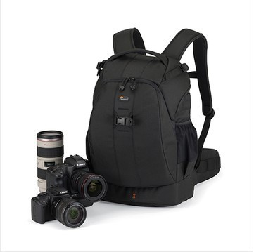 (Black) Lowepro Flipside 400 AW Photo Digital DSLR Camera Bag Backpack with All Weather Cover , Free Shipping(China (Mainland))