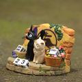 Studio Ghibli Animation Model Toys Kiki s Delivery Service Resin Figure Couple Cute Cat Calendar Xmas