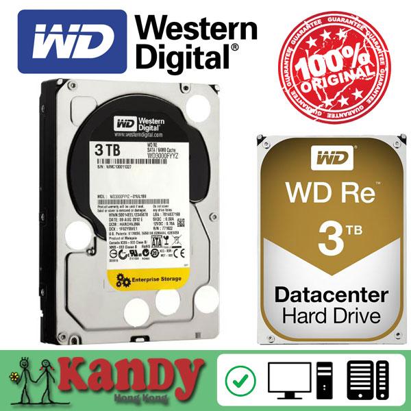 Western Digital WD RE 3TB hdd sata 3.5 disco duro interno internal hard disk harddisk hard drive disque dur desktop hdd server(China (Mainland))