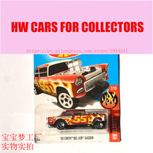 Buy New Arrivals 2017 Hot 1:64 Car wheels 55 Chevy Bel Air Gasser Metal Diecast Cars Collection Kids Toys Vehicle Children for $4.07 in AliExpress store