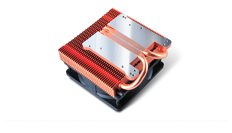 2015 Rushed Computador Cpu Cooler Pccooler)small Double Pipe Perforated Design Supports The Midrange Graphics Replacement Needs(China (Mainland))