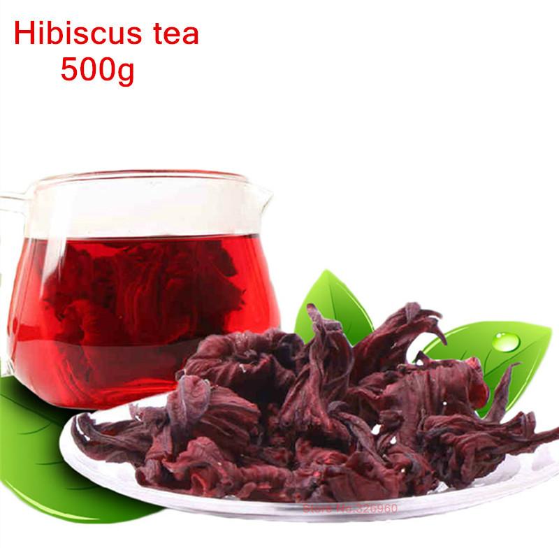 500g 2016 soins de santé Roselle thé, thé d'hibiscus, 2lb perte de poids Naturel séché fleurs Thé, la produits herbe peau alimentaire H04(China (Mainland))
