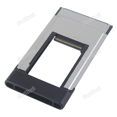 nicebid Lowest price New ExpressCard Express Card 34mm to PCMCIA PC Card CardBus Adapter for Laptop top quality(China (Mainland))