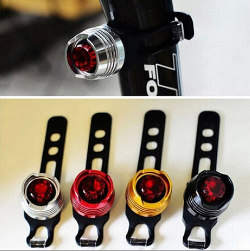 LED Waterproof Bike Bicycle Cycling Front Rear Tail Helmet Red Flash Lights Safety Warning Lamp Cycling Safety Caution Light T41(China (Mainland))