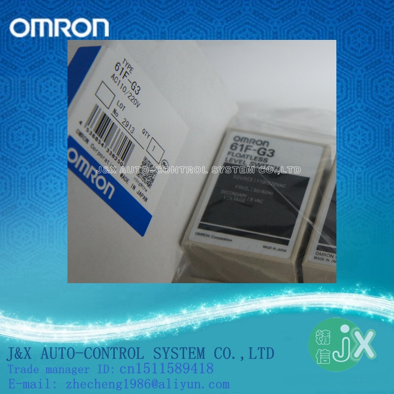 OMRON 61F-G3 AC110-220V / Floatless level switch / Brand new and original / Quality assurance(China (Mainland))