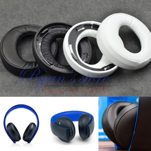 Original Replacement ear pads cushion cover pillow for SONY gold Wireless stereo headset PS3 PS4 7.1 Virtual Surround Sound(China (Mainland))