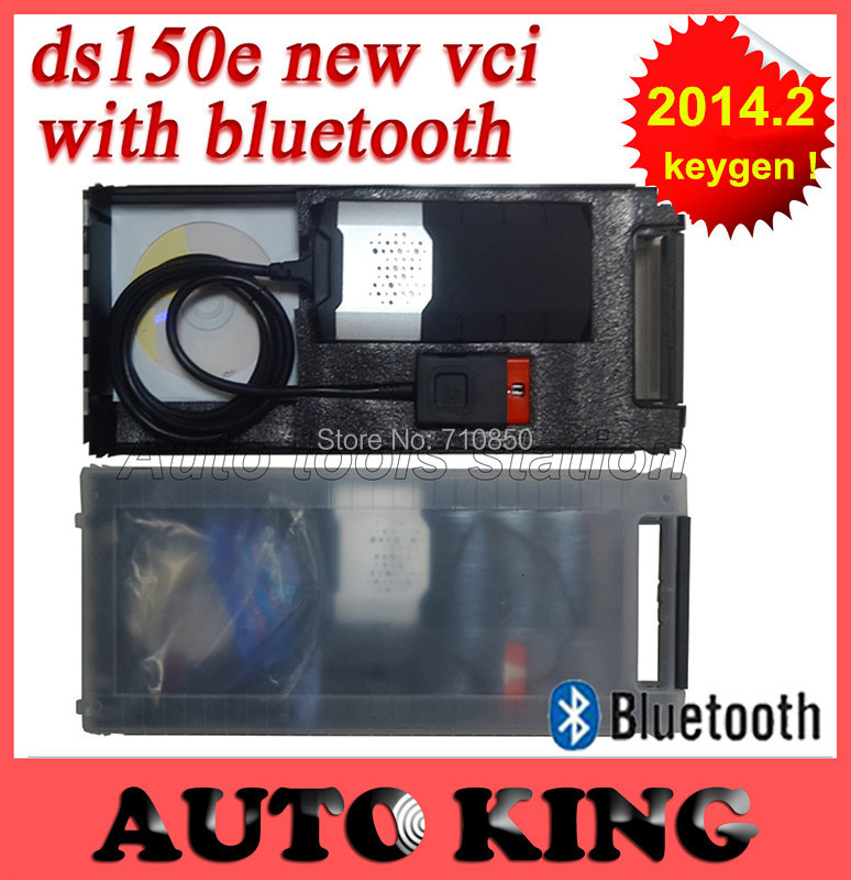 SUPER ! Newest vci (2013.3) Software TCS CDP + pro DS150E Bluetooth,LED,free activation DHL