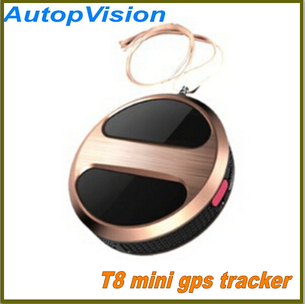 Mini GPS Tracker Locator with google map For kid Pets Dogs Vehicle Personal gps gsm SOS alarm T8 gps tracker(China (Mainland))