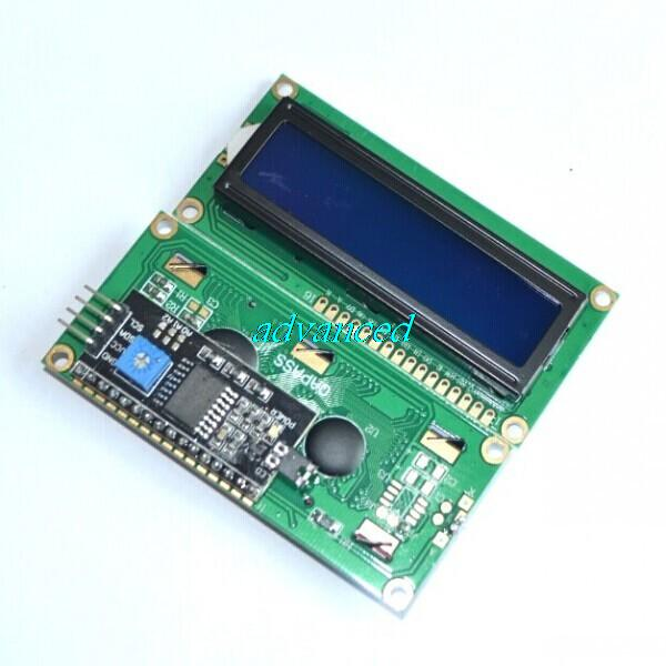 Special promotions !!!! LCD module Blue screen IIC/I2C 1602 for arduino 1602 LCD UNO r3 mega2560(China (Mainland))