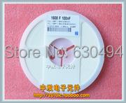 Free Shipping one lot 50pcs 150pF SMD 0603 Capacitor chip 50V +/-10%(China (Mainland))