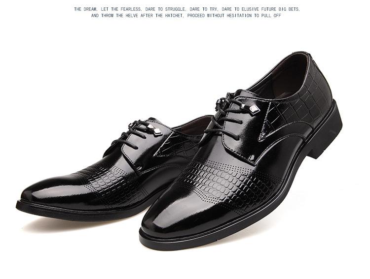 2016 Men Flats Fashion High Quality Plush Leather Shoes Men,Lace-Up Business Men Shoes,Men Dress Shoes,Autumn Oxfords For Winter