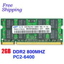 Brand New Sealed Sodimm DDR2 667 Mhz/ 800Mhz/533Mhz 1GB/2GB for Laptop RAM Memory / Lifetime warranty