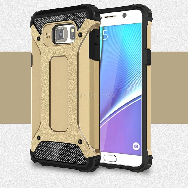 Hybrid Dual Heavy Duty Armor Case Cover for Samsung GALAXY Note 5 Note5 N9200 Back Cover Silicone+Plastic Anti-Knock Phone Cases(China (Mainland))