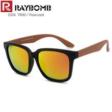 RAYBOMB – 2016 NEW TR90 Frame Sunglasses Women Men's Brand Sun glasses with original box REVO Coating POLARIZED Lens