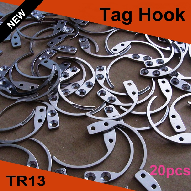 20pcs/lot Tag Hook Security Detacher Tag Remover EAS Hook Detacher Handheld One(China (Mainland))