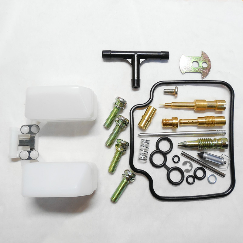 (free shipping) Motorcycle GY6-125CC Keihin carburetor repair kits Moped Scooter ATV Karting scooters (normal configuration)(China (Mainland))
