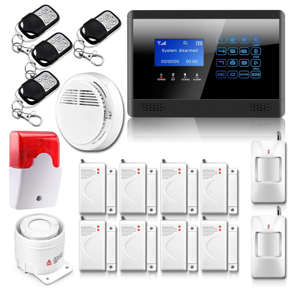 Buy m2bx wireless wired gsm sms home for Buy house alarm system