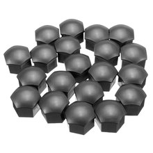 20 Pcs Wheel Lug Bolt Nut Cover Caps For Audi /Volkswagen 17mm Hex Head Bolts 321601173A(China (Mainland))