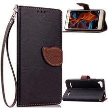 Buy Lenovo Lemon 3 Flip Case Leaf Leather Case Lenovo Vibe K5 / K5 Plus K32C36 Stand Wallet Cover Phone Shell Card Holder for $3.31 in AliExpress store