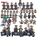 MTELE Brand SWAT Mitary Fifgure Building Blocks Toy Army figures Building Blocks Toys High Quality Compatible