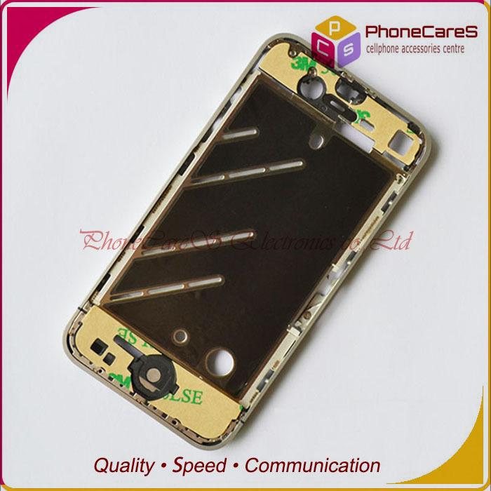 Для iPhone4 4G с Ближнего Крышка корпуса пластина панели Рамка, средняя рамка шасси ,Оригинальные, быстрая доставка по HKPAM