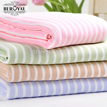 """Buy New 2017 MAOMAOYU Brand Beach Towel Promotion -4PC 70*140CM (27""""*55"""") 100%Cotton Towel Adult Stripe Bath Towels Send Gift 020019 for $48.59 in AliExpress store"""