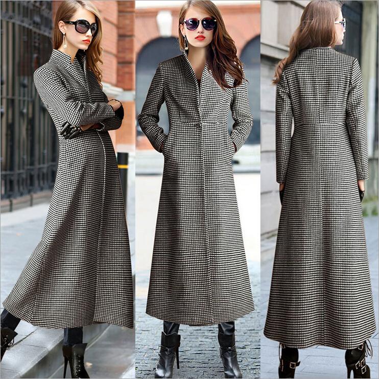 Ankle Length Winter Coat