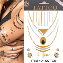 Buy Beauty Body Temporary Tattoo Sticker DIY Fashion Flash Tattoo Waterproof Temporary Flash Tattoo Body Art for $30.02 in AliExpress store