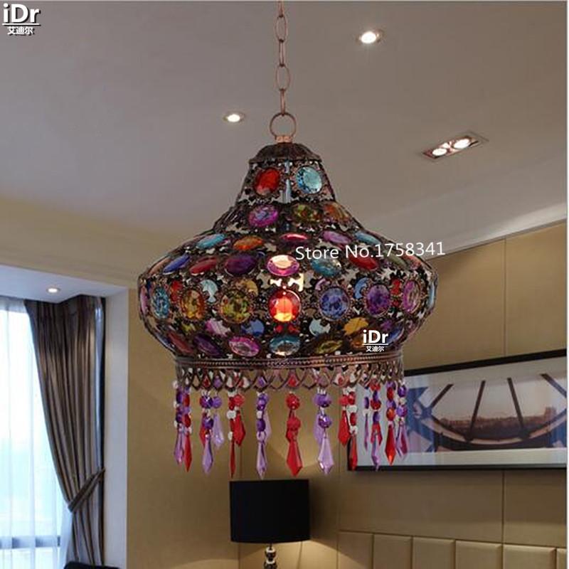 European upscale restaurant study lamp table headlamp more Pendant Lights Restaurant lights Luxury lamp Dia310xH370mm(China (Mainland))