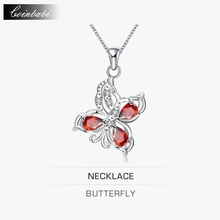 Butterfly Pendant Necklace,Tf TS Career 925 Sterling Silver & Zirconia For Girl Lady,South Korea, Japan And South Korea, The Cl