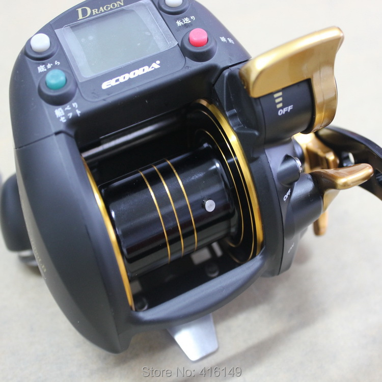 ecooda dragon 7000lb 30kg strong electronic boat fishing reel(China (Mainland))