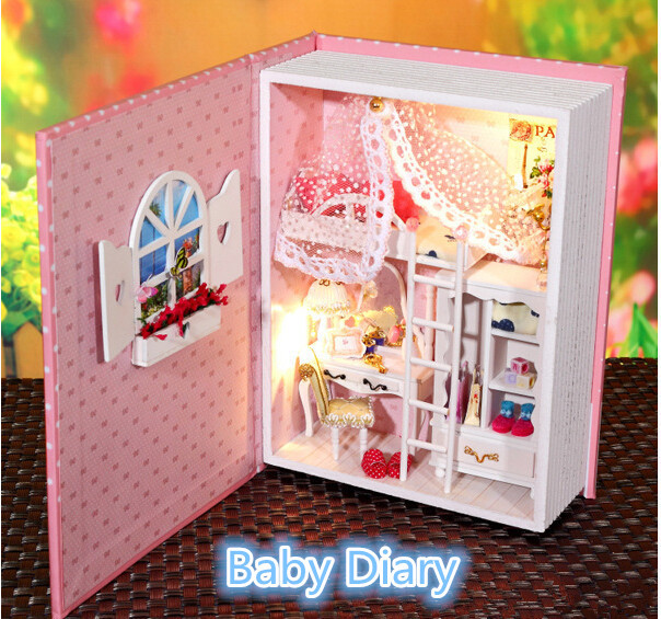 Babies Dolls House Wooden Doll House of Baby