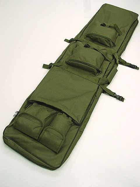 48 SWAT Dual Tactical Rifle Carrying Case Gun Bag OD free ship<br><br>Aliexpress