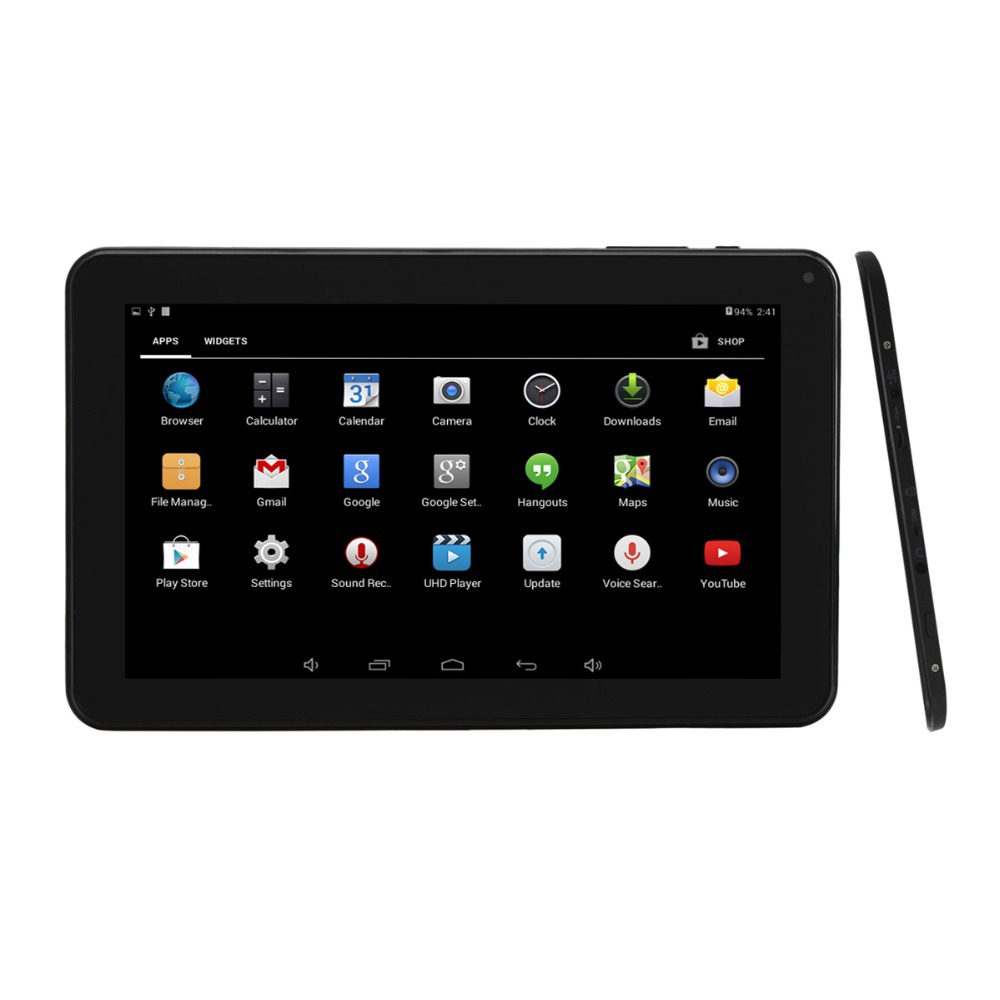 9 inch Touch Screen Android 4 4 Tablet PC Quad Core 512MB RAM 8GB ROM support