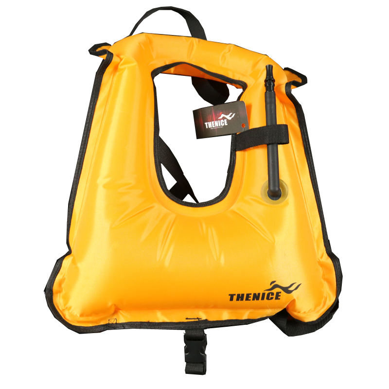 TheNice Portable Inflatable life jacket Super light Buoyancy vest Float ring Snorkeling dive suit Equipment swim For Adult Kids(China (Mainland))