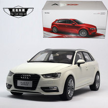 Brand New 1/18 Scale Germany Audi A3 Sportback 2014 Diecast Metal Car Model Toy For Gift/Collection/Decoration(China (Mainland))
