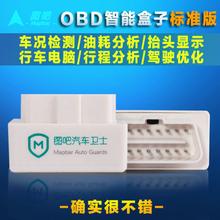 Figure it trip computer HUD HUD OBD2 Bluetooth Car fuel smart box detector(China (Mainland))