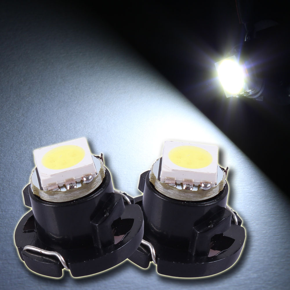 1Freeshipping T4.7 White Red Blue Pink 1Led 5050 Xenon Interior Bulb CLUSTER GSUGE Dash Board Lamp - UFavors store