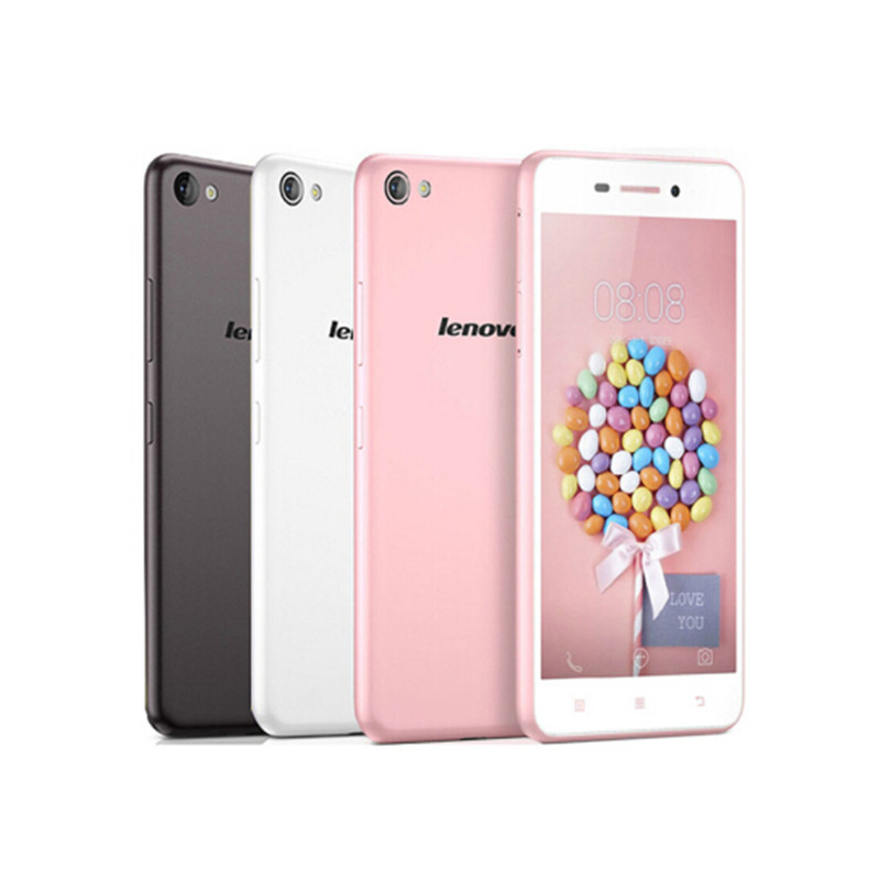 "Original Lenovo S60 S60W S60T 5.0"" HD MSM8916 quad core 4G LTE FDD Android 4.4 smartphone 2gb ram 13mp white Google Play Store(China (Mainland))"