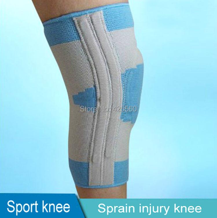 1 Piece Medical Knee Support & Brace Stabiliser Meniscus Injury Softening Patellar Tendinitis Joint Laxity Four Size Choosed(China (Mainland))