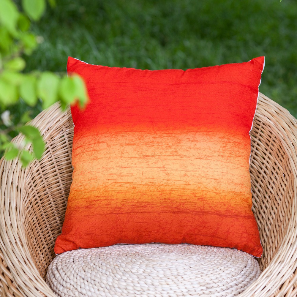 2016 new arrival linen look multicolor horizontal stripe decorative pillow cover throw pillow cover cushion cover