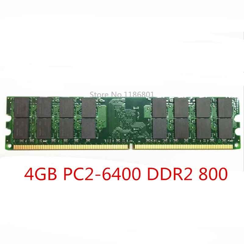 New Sealed DDR2 800 Mhz 667Mhz 533Mhz PC2 6400 1GB 2GB for Desktop RAM Memory Free