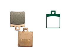 Motorcycle Copper Based Sintered Brake Pads GILERA RX 125 RX125 Arizona 1988- Motor Front Disk - Professional motorcycle shop store