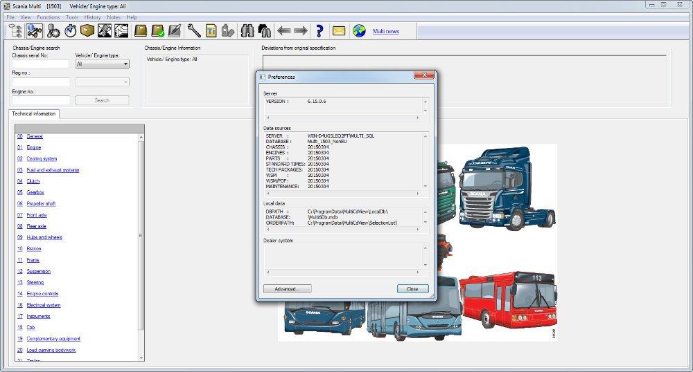 Каталог запчастей Scania - Транссервис